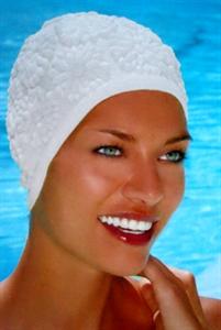 Obrázek pro výrobce 3102 Latexová koupací čepice s ornamenty