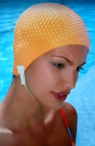 Obrázek pro výrobce 3116 Dámská koupací čepice s páskem