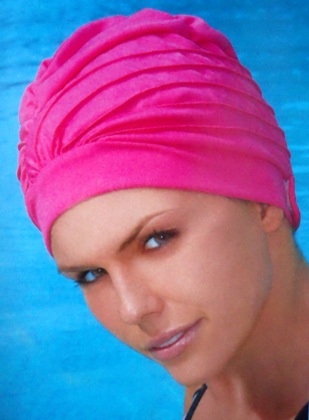 b7ad16606c0 Obrázek pro výrobce 3472 Látková dámská koupací čepice