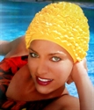 Obrázek pro výrobce 3448 Látková koupací čepice dámská